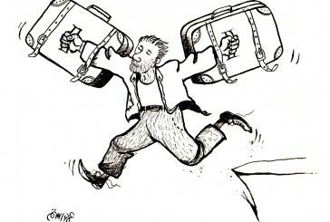 كاريكاتير : الهجرة !